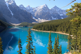 Moraine Lake im Banff National Park, Alberta, Kanada