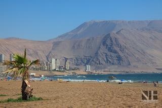 Küste in Iquique, Region Tarapaca, Chile
